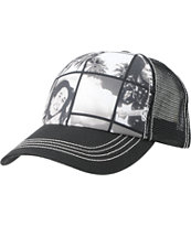 Billabong x Bob Marley Jahman Black Trucker Hat