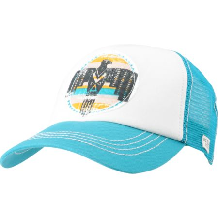 Billabong Girls Free Ryder Turquoise Trucker Hat