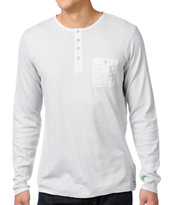 Analog Buckley Silver Grey Henley Shirt