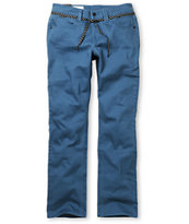 Empyre Skeletor Slate Blue Slim Jeans