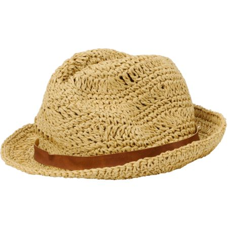 Billabong Girls At The Cabana Straw Fedora Hat