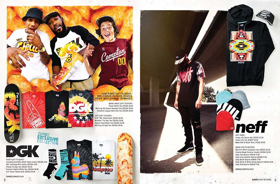 Back To School 2014 Catalog Page 14 & 15