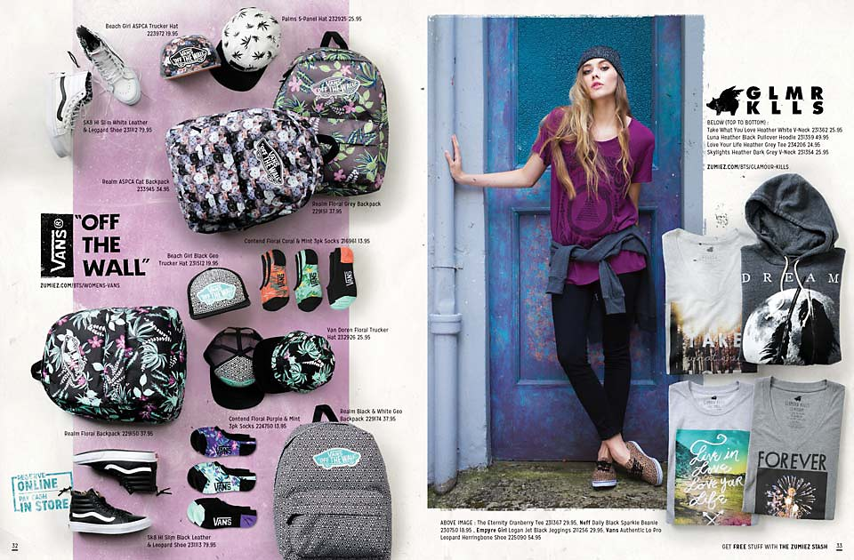 Back To School 2014 Catalog Page 32 & 33