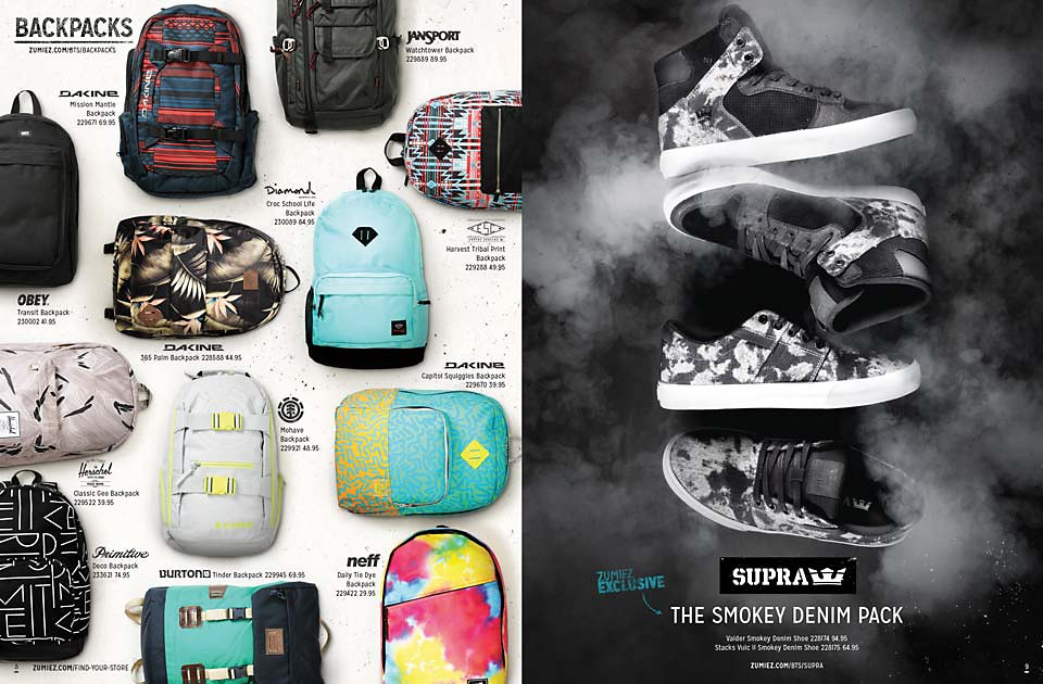 Back To School 2014 Catalog Page 8 & 9