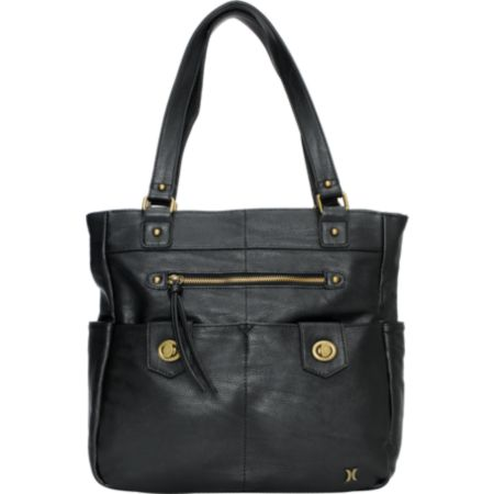 Hurley Girls Prism 2 Black Tote Bag