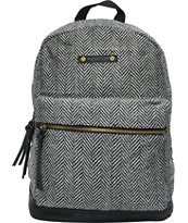 Hurley Girls Market Herringbone Backpack