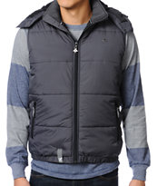 LRG CC Puffy Grey Vest