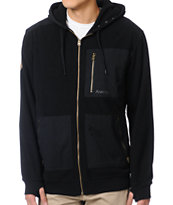 Analog Obsolete ATF Black Tech Fleece Jacket