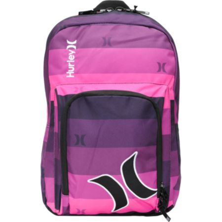 Hurley Girls Sync Pink Laptop Backpack