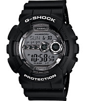 G-Shock GD100BW-1 X-Large Black Watch