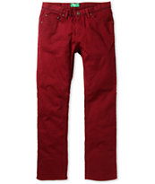 Matix Torey Bull Burgundy Regular Fit Jeans