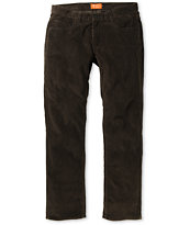 Matix MJ Cocoa Brown Regular Fit Corduroy Pants