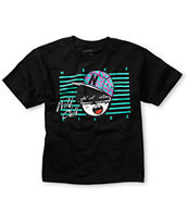 Neff Boys Wild Steez Black Tee Shirt