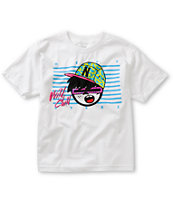 Neff Boys Wild Steez White Tee Shirt