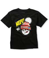 Neff Boys Yo Fresh Black Tee Shirt