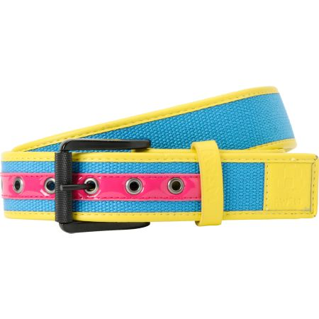 AWSM Disco Blue & Yellow Combo Belt