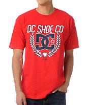 DC Shield Red Tee Shirt