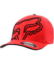 Fox Everywhere Red Flexfit Hat