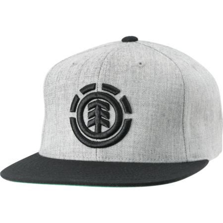 Element Knutsen Heather Grey Snapback Hat