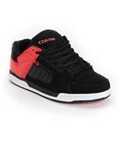 Globe Shoes Liberty Black & Red Skate Shoe