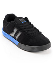 Globe Lift Black & Blue Mesh Skate Shoes