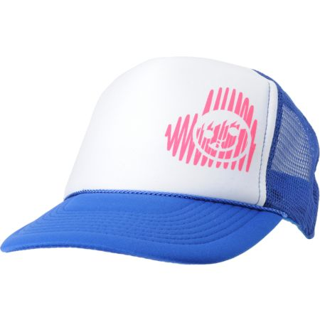 Neff Girls Scratch Blue Snapback Trucker Hat
