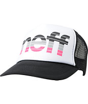 Neff Girls Chop Black Snapback Trucker Hat