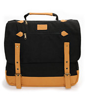 Volcom Supply & Demand Black Messenger Backpack