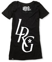 LRG Girls Sicker Than Most Black Tee Shirt