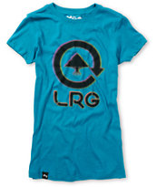 LRG Girls Vicious Cycle Teal Tee Shirt