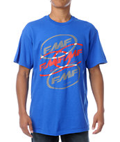 FMF Stacked Up Blue Tee Shirt