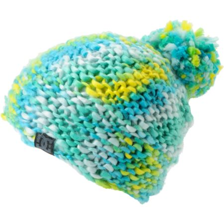 DC Girls Nakiska 2013 Aegian Blue & Yellow Beanie