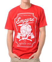 Empyre Bitter End Red Tee Shirt