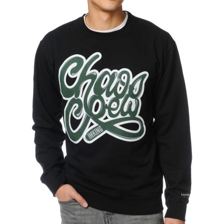 IMKing Squad Crew Black Crew Neck Sweatshirt