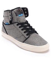 Vans OTW Alomar Black Wool Twill Skate Shoe