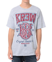 KR3W Champ Heather Grey Tee Shirt