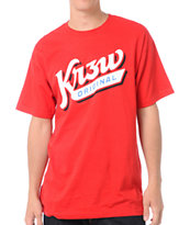 KR3W Shortstop Red Tee Shirt
