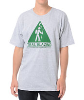 Casual Industrees Trail Blazing Heather Grey Tee Shirt
