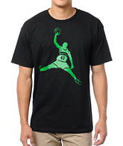 Casual Industrees Reign Man Black Tee Shirt