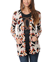 Volcom Girls V.Co Loves Natural Cardigan Sweater