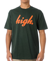 Odd Future Domo High Forest Green Tee Shirt