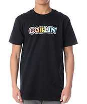 Odd Future Goblin Rainbow Black Tee Shirt