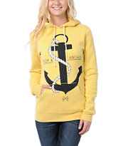 Glamour Kills Drop & Anchor Yellow Pullover Hoodie