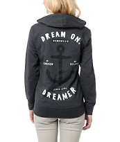 Glamour Kills Dream On Dreamer Charcoal Hoodie