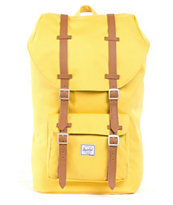Herschel Supply Little America Medium Yellow Backpack