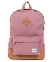 Herschel Supply Heritage Mid-Volume Purple Backpack