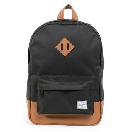 Herschel Supply Heritage Medium Black Backpack