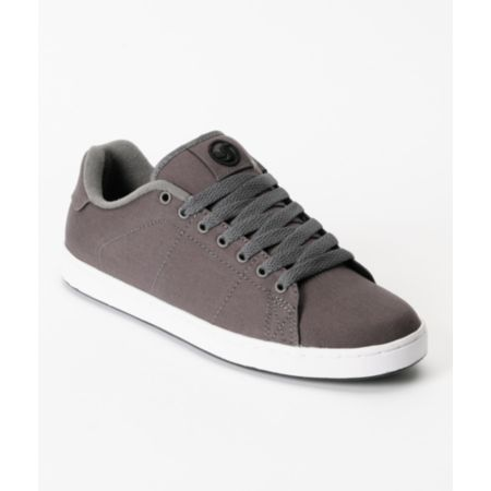DVS Gavin 2 Grey Canvas Skate Shoe