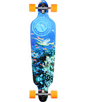 San Clemente Everything Drains Turtle 39 Longboard Complete