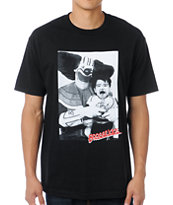 Booger Kids Bozo Loves The Kids Black Tee Shirt